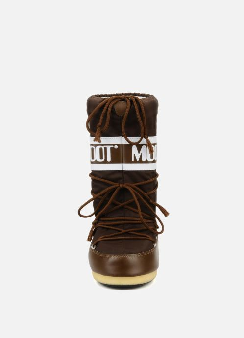 Sportschuhe Moon Boot Moon Boot Nylon braun schuhe getragen