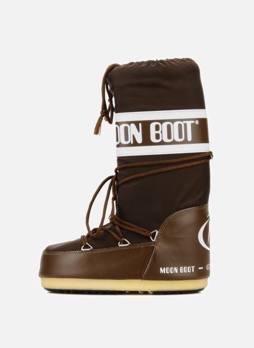 Sportschuhe Moon Boot Moon Boot Nylon braun ansicht von vorne