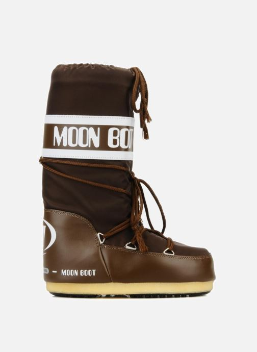 Sportschuhe Moon Boot Moon Boot Nylon braun ansicht von hinten