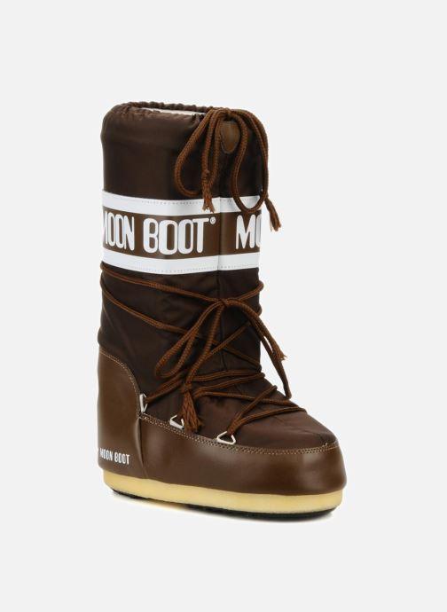 Chaussures de sport Moon Boot Moon Boot Nylon W Marron vue détail/paire