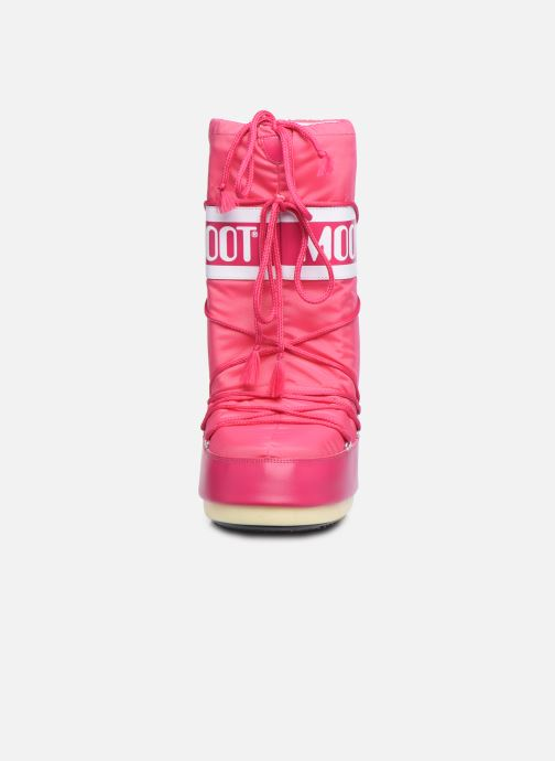 Sport shoes Moon Boot Moon Boot Nylon Pink model view