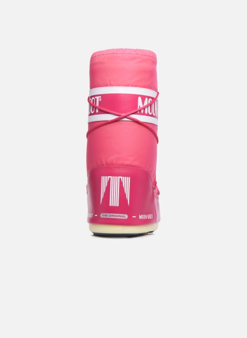 Sportschuhe Moon Boot Moon Boot Nylon rosa ansicht von rechts