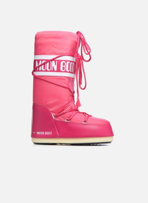 Sportschuhe Moon Boot Moon Boot Nylon rosa ansicht von hinten