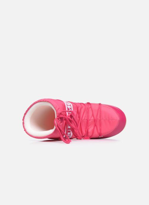 Sportschuhe Moon Boot Moon Boot Nylon rosa ansicht von links