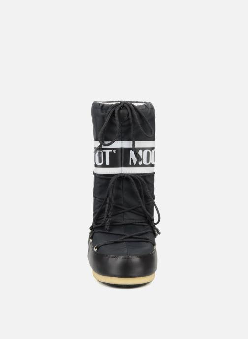 Chaussures de sport Moon Boot Moon Boot Nylon W Noir vue portées chaussures