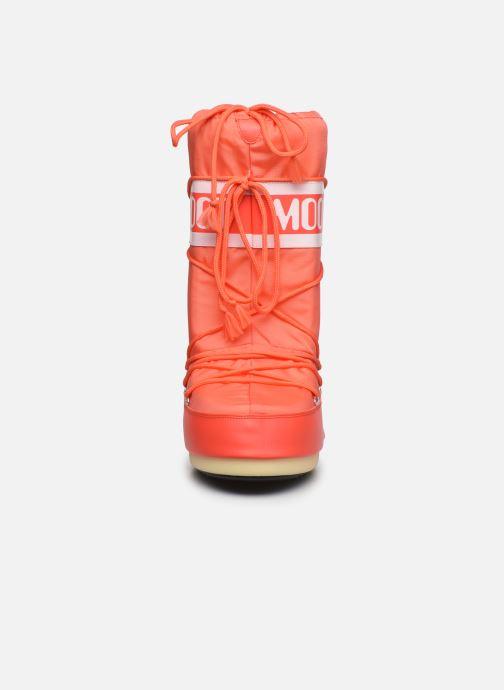 Zapatillas de deporte Moon Boot Moon Boot Nylon Naranja vista del modelo