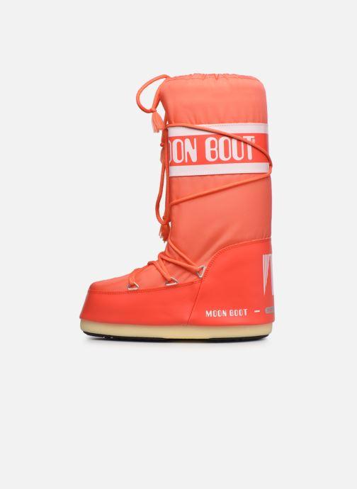 Zapatillas de deporte Moon Boot Moon Boot Nylon Naranja vista de frente