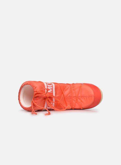 Zapatillas de deporte Moon Boot Moon Boot Nylon Naranja vista lateral izquierda