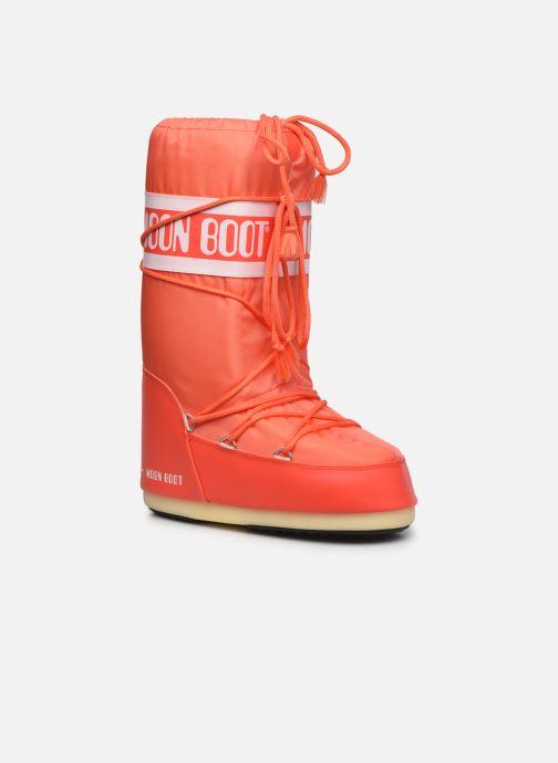 Chaussures de sport Moon Boot Moon Boot Nylon W Orange vue détail/paire