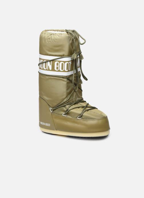 Chaussures de sport Moon Boot Moon Boot Nylon W Vert vue détail/paire