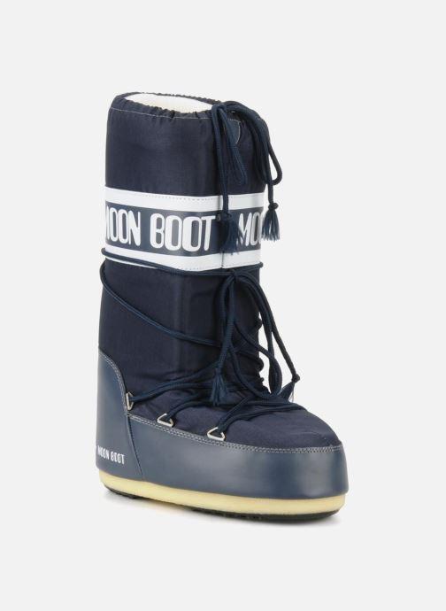 Chaussures de sport Moon Boot Moon Boot Nylon W Bleu vue détail/paire