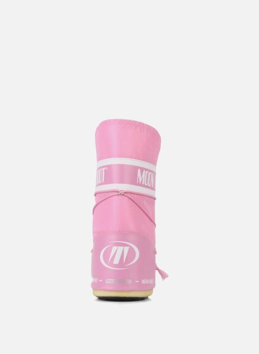 Sportssko Moon Boot Moon Boot Nylon Pink Se fra højre