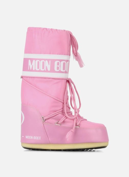 Sportssko Moon Boot Moon Boot Nylon Pink se bagfra