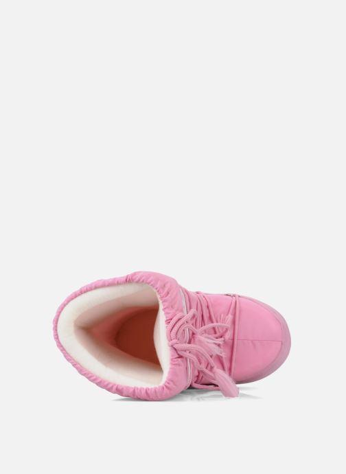 Chaussures de sport Moon Boot Moon Boot Nylon W Rose vue gauche