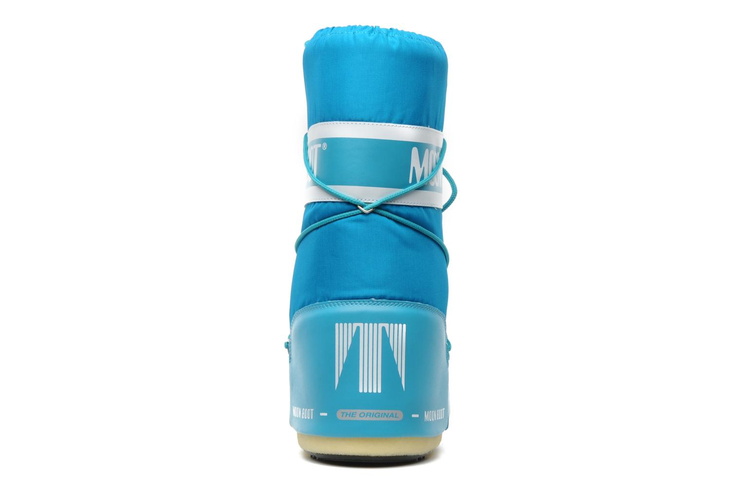 Sport shoes Moon Boot Moon Boot Nylon Blue view from the right