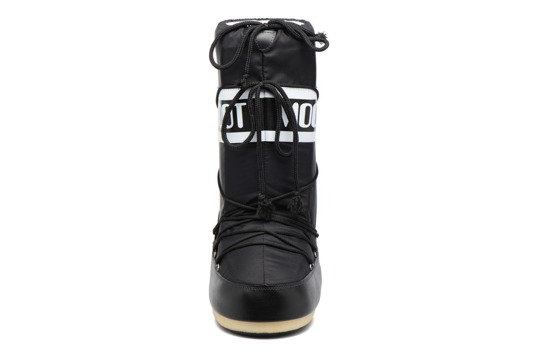 Sportskor Moon Boot Moon Boot Nylon Svart bild av skorna på