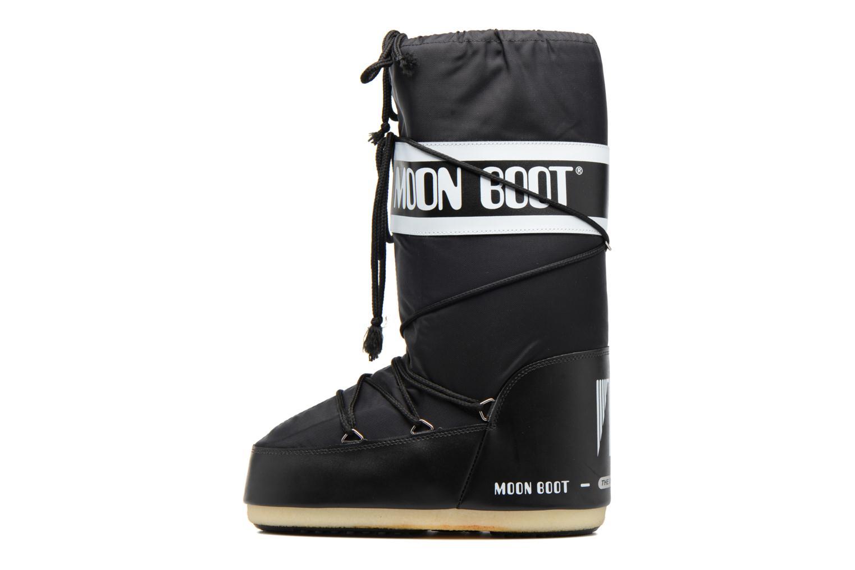 Sportskor Moon Boot Moon Boot Nylon Svart bild från framsidan