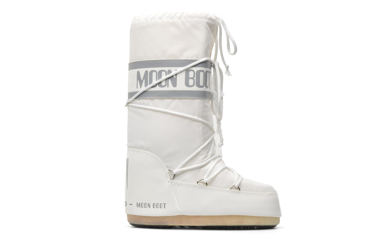 Sport shoes Moon Boot Moon Boot Nylon White back view