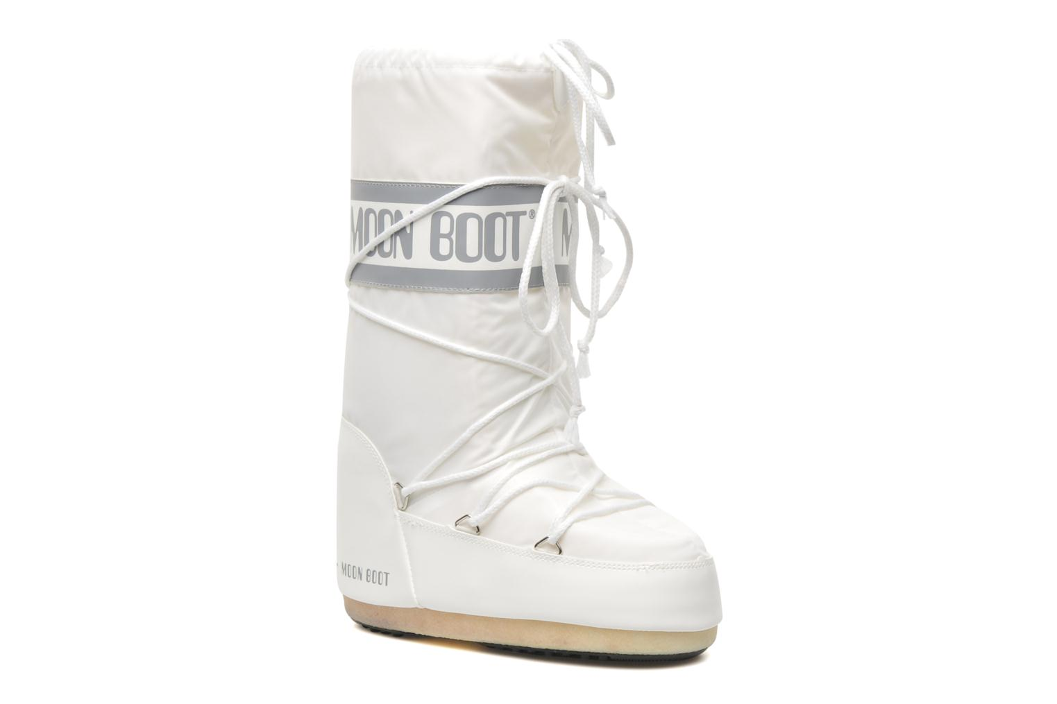 Sport shoes Moon Boot Moon Boot Nylon White detailed view/ Pair view