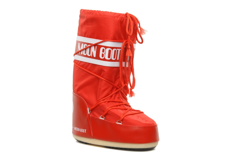 Chaussures de sport Moon Boot Moon Boot Nylon W Rouge vue détail/paire