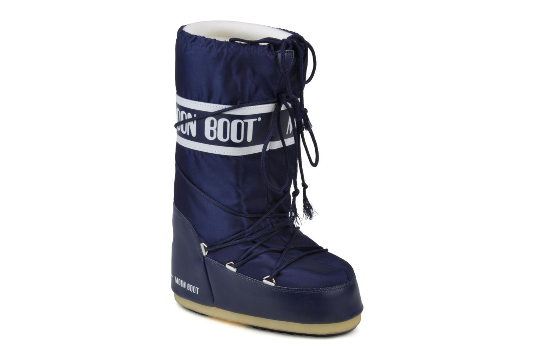Moon Boot Moon Boot Nylon W (Bleu) - Chaussures de sport en Más cómodo Mode pas cher et belle