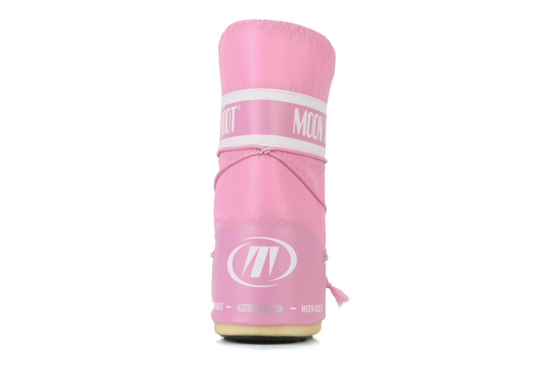 Chaussures de sport Moon Boot Moon Boot Nylon W Rose vue droite
