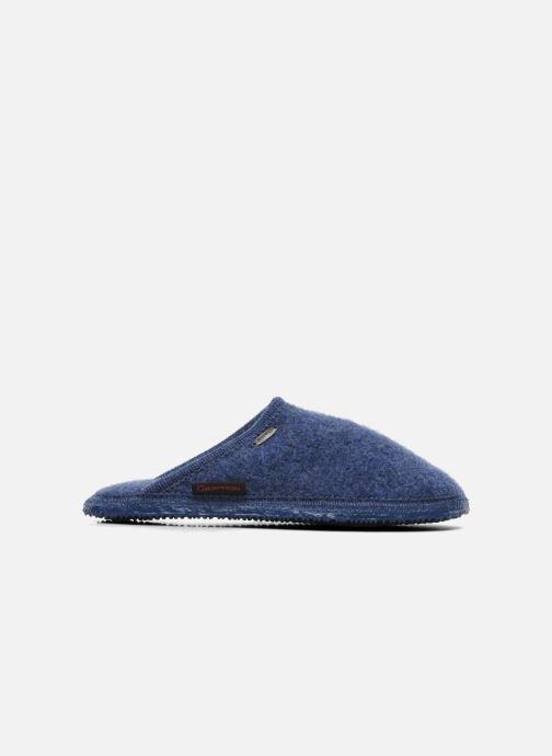 Pantofole Giesswein Tino Azzurro immagine destra