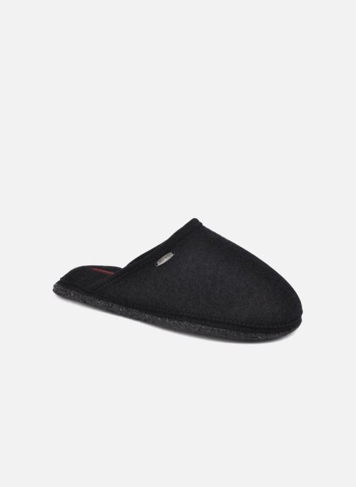 Slippers Giesswein Tino Black detailed view/ Pair view
