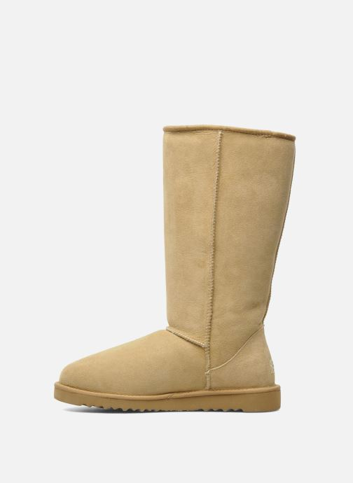 Ankle boots UGG Classic Tall Beige front view