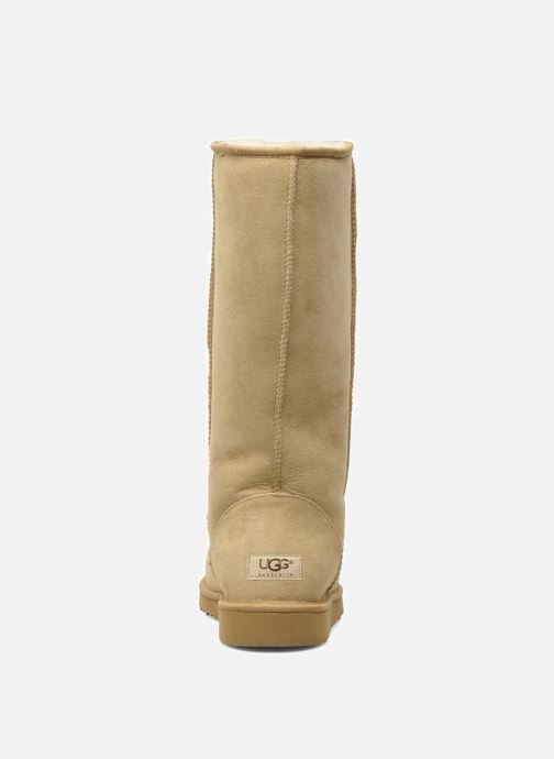 Bottines et boots UGG Classic Tall Beige vue droite