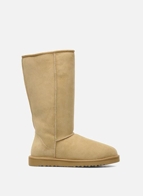 Ankle boots UGG Classic Tall Beige back view