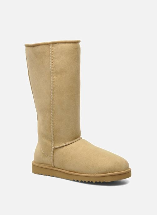 Ankle boots UGG Classic Tall Beige detailed view/ Pair view