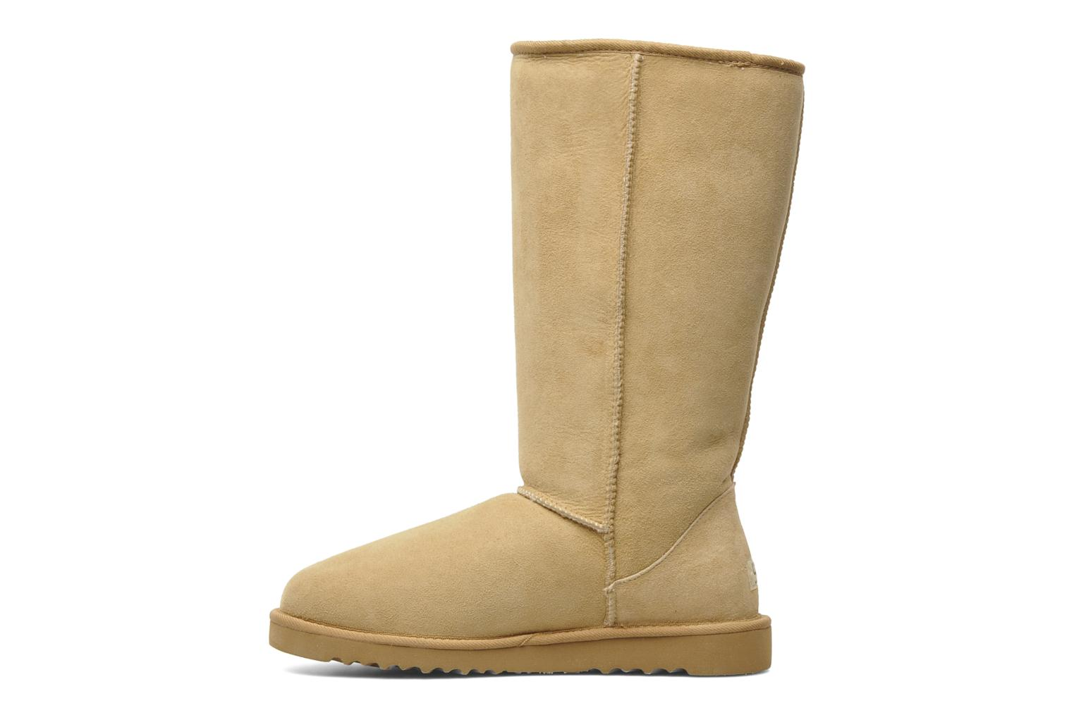Bottines et boots UGG Classic Tall Beige vue face