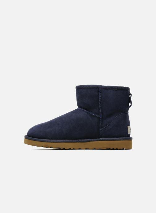 Bottines et boots UGG Classic Mini Bleu vue face