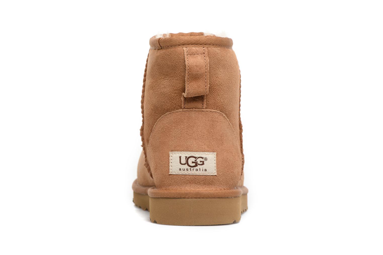 Bottines et boots UGG Classic Mini Marron vue droite