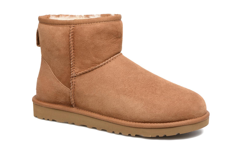 Bottines et boots UGG Classic Mini Marron vue détail/paire