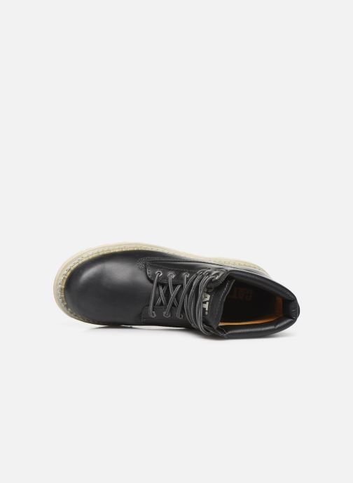 Ankle boots Caterpillar Colorado Black view from the left