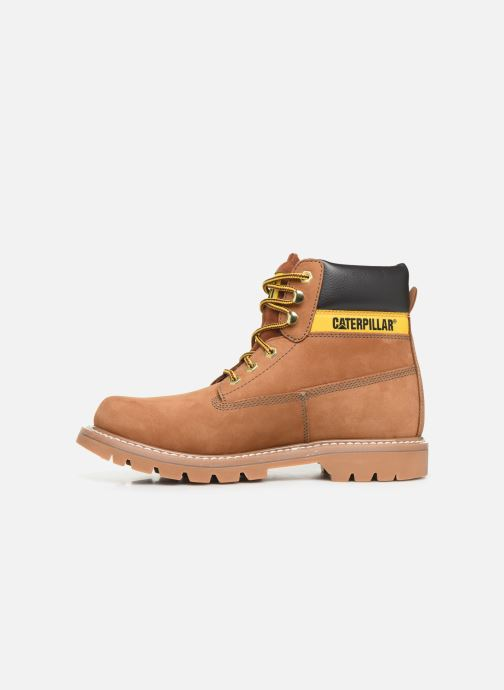 Ankle boots Caterpillar Colorado Brown front view