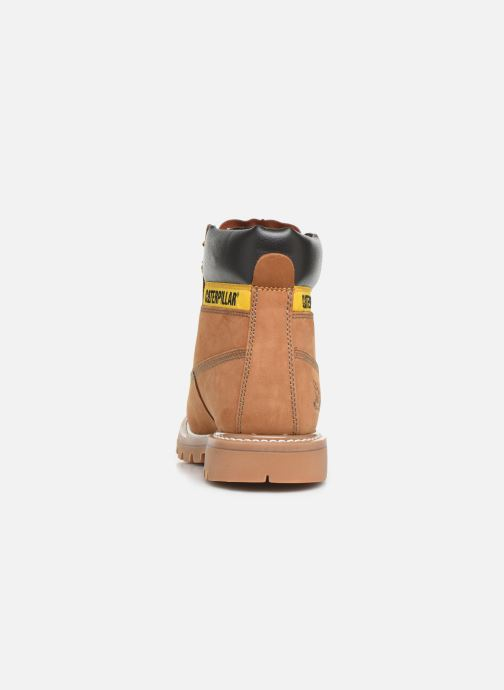Ankle boots Caterpillar Colorado Brown view from the right