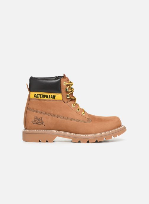 Ankle boots Caterpillar Colorado Brown back view