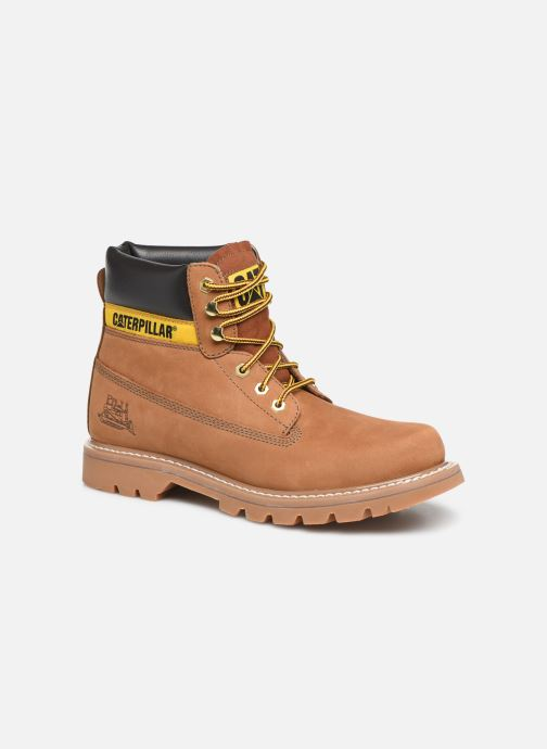 Ankle boots Caterpillar Colorado Brown detailed view/ Pair view