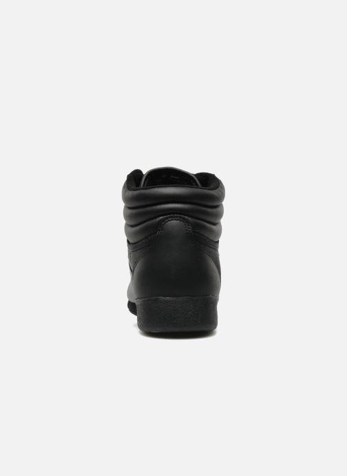 Sneakers Reebok Freestyle Hi Sort Se fra højre