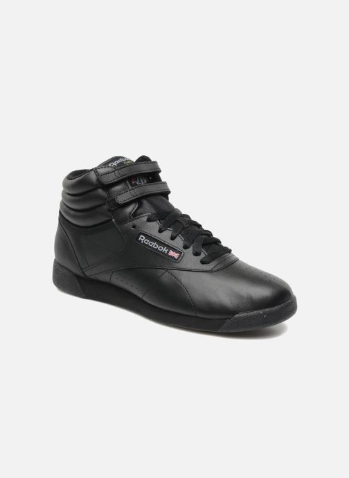 Trainers Reebok Freestyle Hi Black detailed view/ Pair view