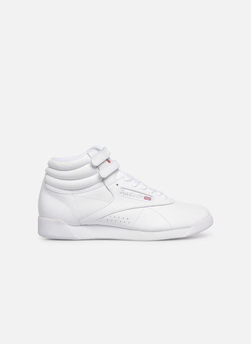 Sneakers Reebok Freestyle Hi Bianco immagine posteriore