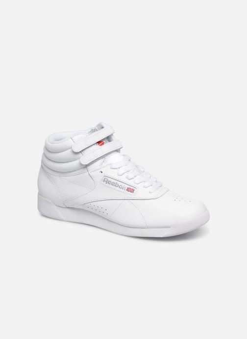 Sneaker Reebok Freestyle Hi weiß detaillierte ansicht/modell