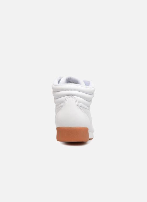 Sneakers Reebok Freestyle Hi Bianco immagine destra