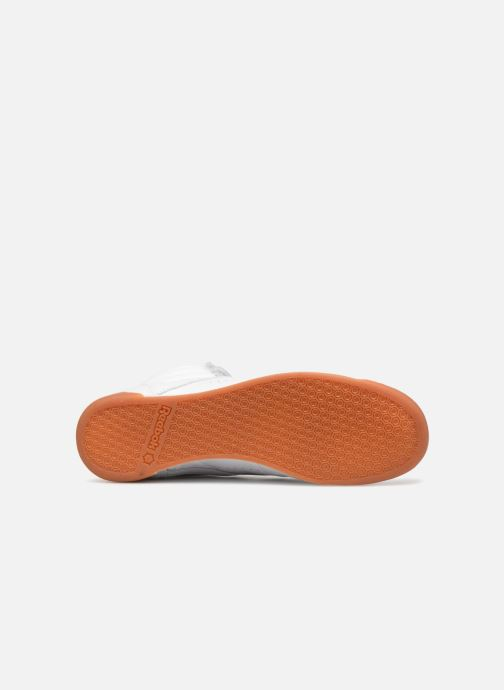 Sneakers Reebok Freestyle Hi Bianco immagine dall'alto