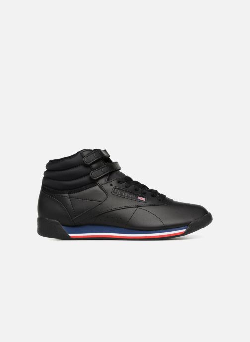 Baskets Reebok Freestyle Hi Noir vue derrière