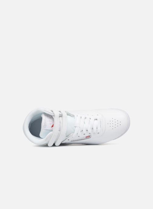 Reebok Freestyle Hi (Wit) Sneakers chez Sarenza (343542)