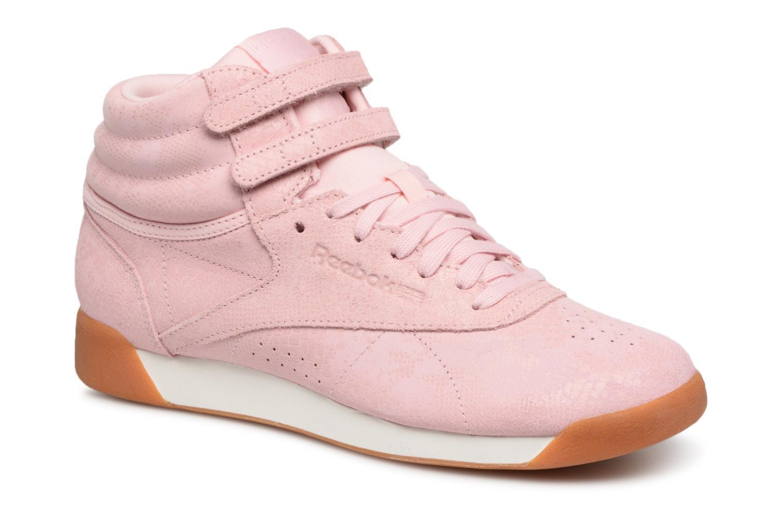 Reebok Freestyle Hi (Rose) - Baskets en Más cómodo Les chaussures les plus populaires pour les hommes et les femmes